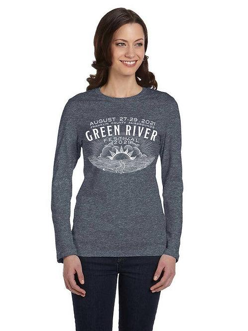 GRF 2021 - Long Sleeve Shirt - Heather Grey