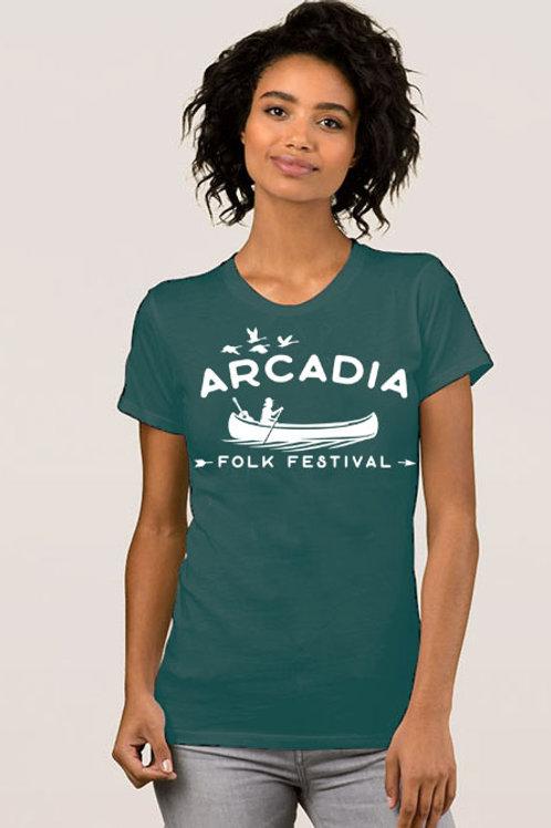 Arcadia Folk Festival 2021 T-Shirt (Forest Green)