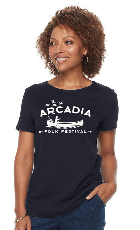 Adult T Shirt - Indigo