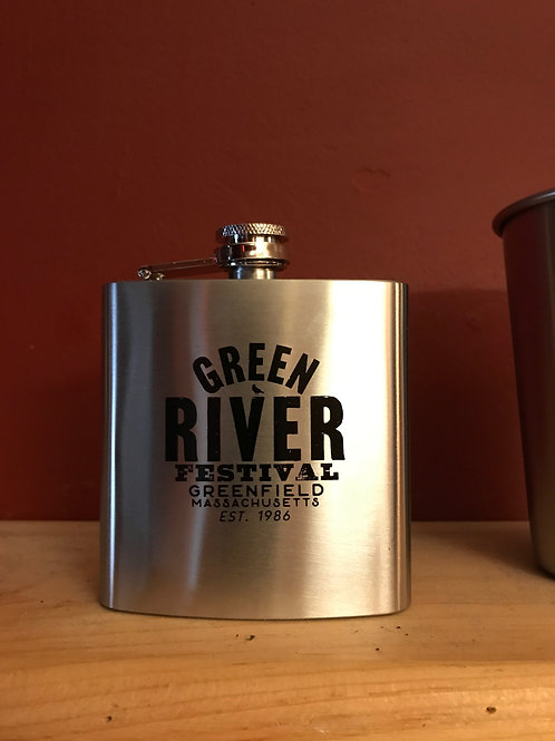 GREEN RIVER FESTIVAL WHISKY FLASK