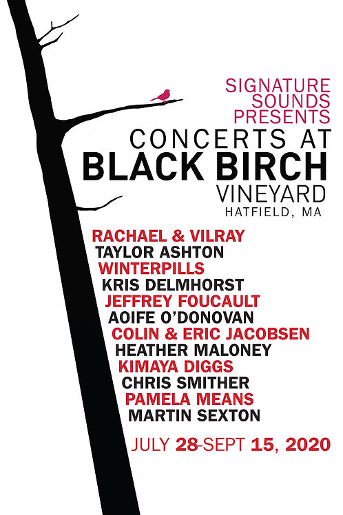 BLACK BIRCH CONCERT SERIES 2020 11x17 POSTER