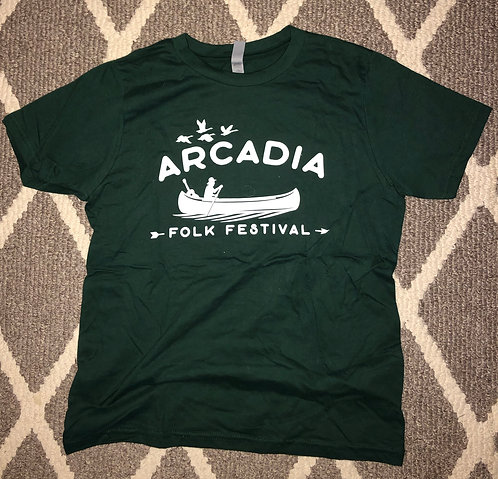Youth Arcadia Folk Fest T-Shirt (Second Annual - 2019)