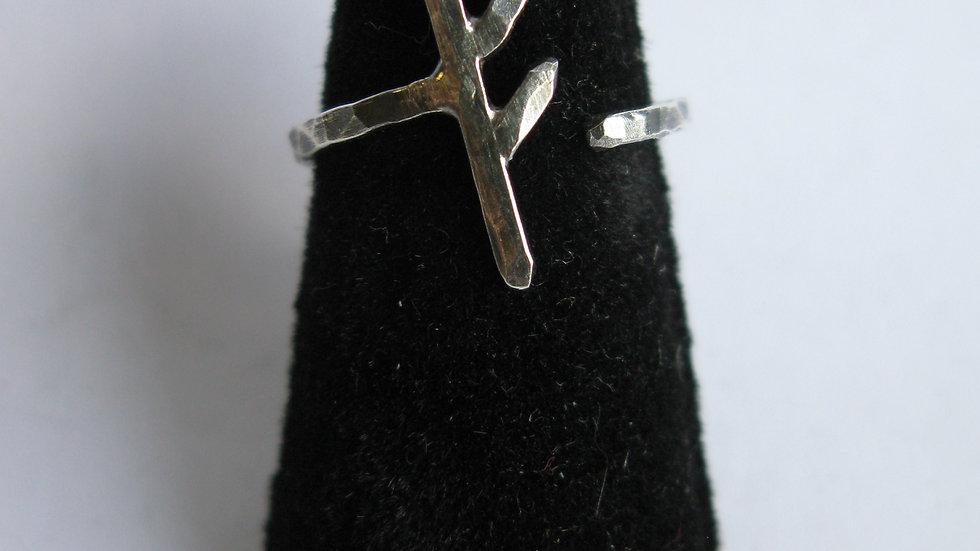 Fehu Rune Ring