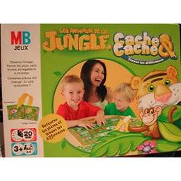 Les animaux de la jungle - Cache Cache