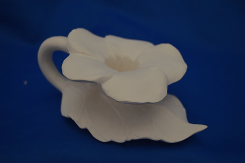 Hibiscus Candle Holder  1158    5cm tall