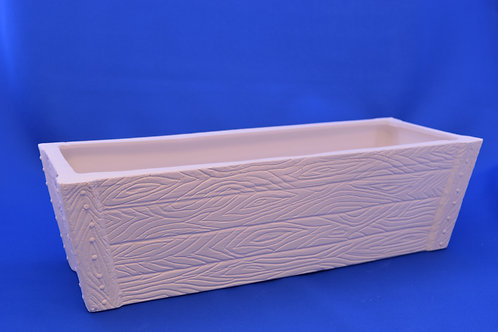 WOOD EFFECT PLANTER, GB301, 34cms x 10cms