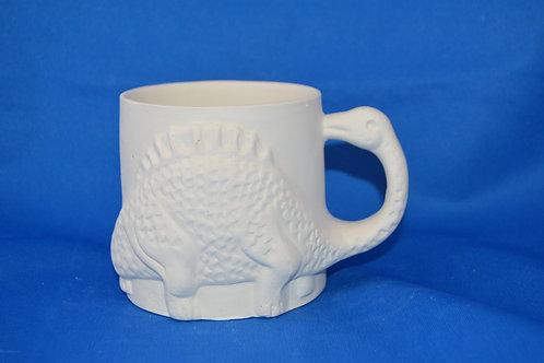 Dinosaur Mug, 8 x 12cms