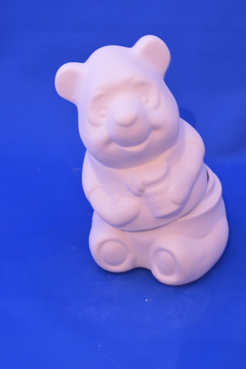 BEAR MONEY BOX, GB165MB, 18cms x 22cms
