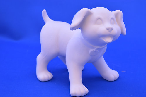 SMALL STANDING DOG, SC3183, 14cms