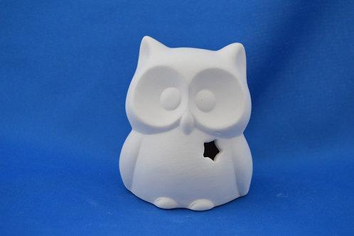 Owl with star, 10 x 8 cms