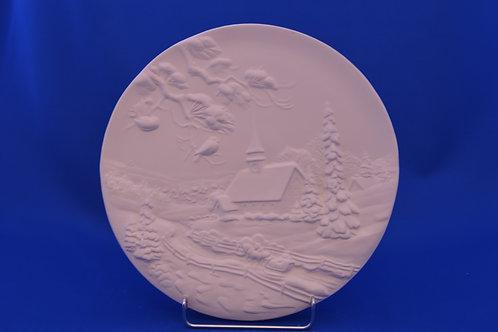 WINTER PLATE, GB104, 26cms