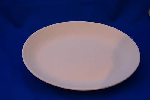LGE PLATE WITH CURVED RIM, GB021 28cms