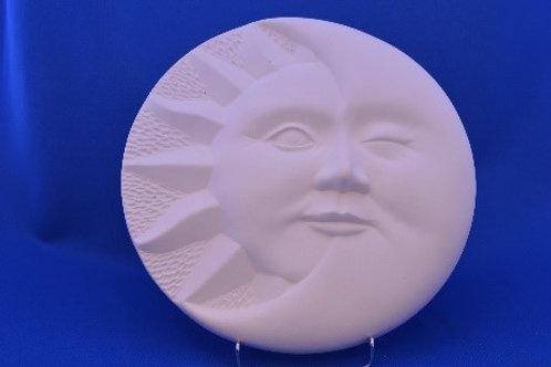 SUN MOON PLAQUE , SC3903, 31cms