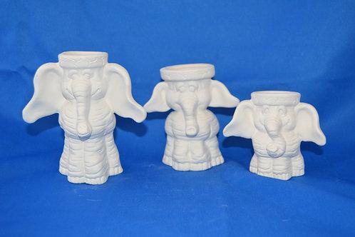 Elephant Cactus Pots, Set, 1874