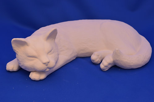 LGE SLEEPING CAT, SC 2363 38cms