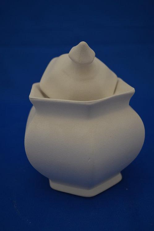 Sm Hexagon Jar,  GB204  13cm