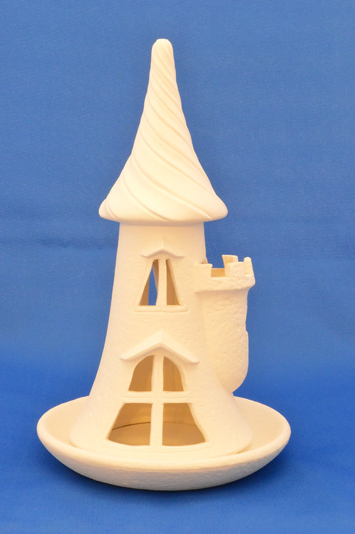 SMALL CASTLE AND TRAY, SC3160, 24cms