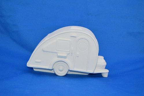 Caravan, 11cms x 19cms