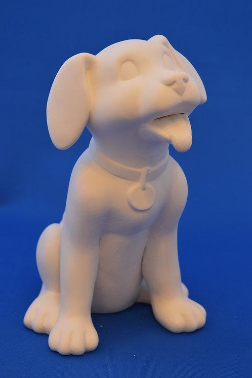 LARGE SITTING DOG, 20cms , SC3181