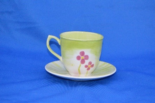 Traditional Cup and Saucer
