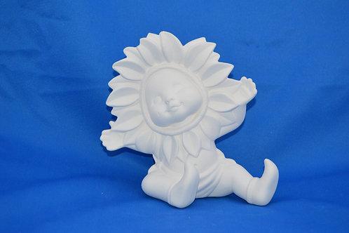 Sunflower Baby , arms, 15cms