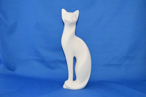 TALL SERENE CAT, C792, 30cms