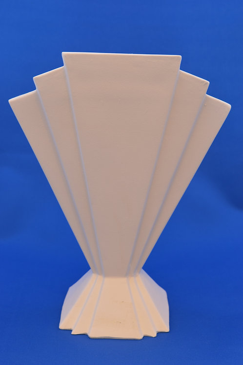ART DECO FAN VASE,