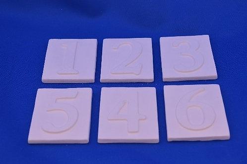 TILES 1-5, G2745, 6 cms