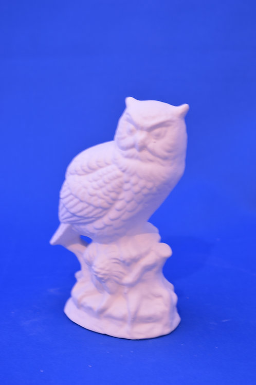 OWL ON LOG , GB215,13cms