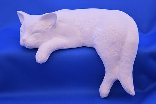 CAT SHELF SLEEPER,SC2175, 19cms