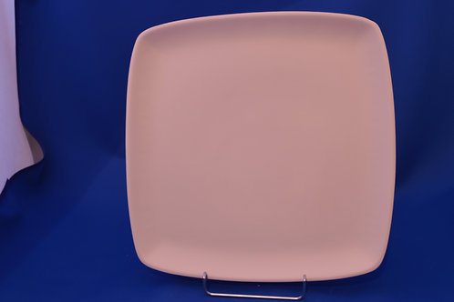 LGE SQUARE PLATE, DM2165, 28cms