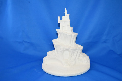 Fairy Castle Round Base, 2048, 24 x 18cms