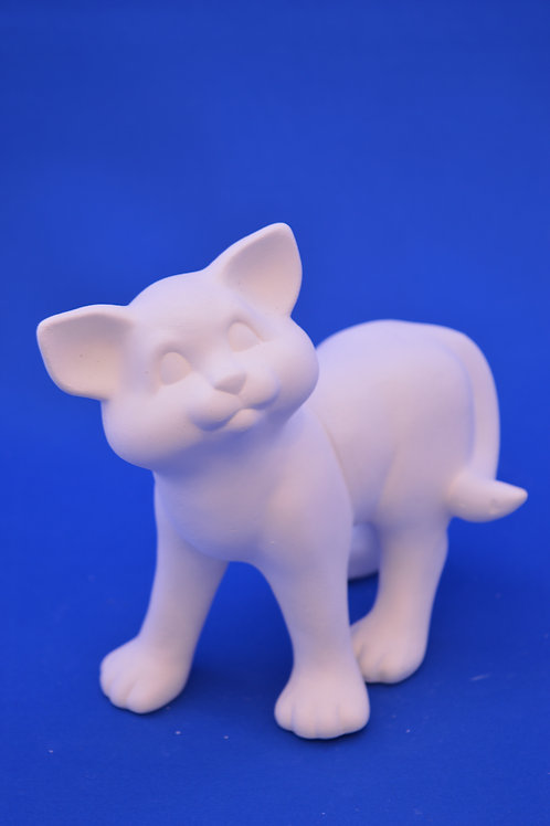 SMALL STANDING CAT , SC3186, 15 cms
