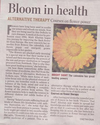 The Hindu (Metro Plus) 23.11.2009