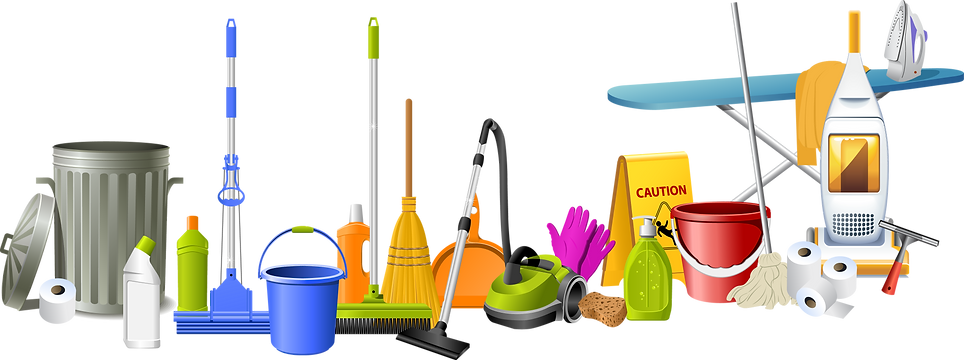 Erika Cleaning Services - Products