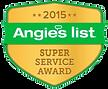 2015 - Angies List Super Service Award