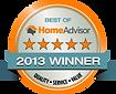 Best of Home Advisor - 2013 Winner