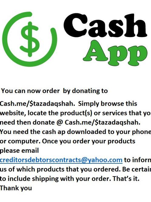 Cash.me/$tazadaqshah