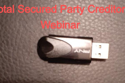 Total Secured Party Creditor Process Webinar