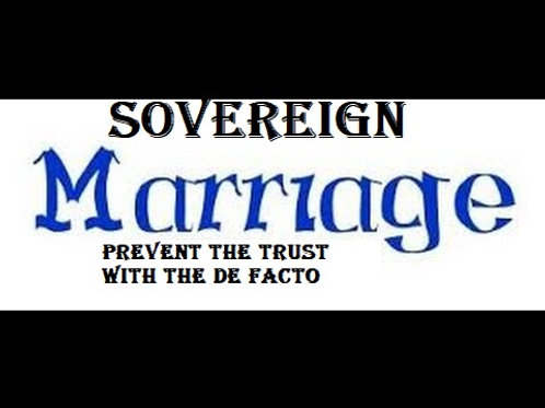 SOVEREIGN MARRIAGE