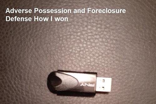 Adverse Possession/Stop Foreclosure Webinar