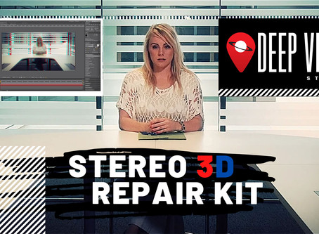 FREE Stereoscopic 3D Repair Kit - After Effects Template
