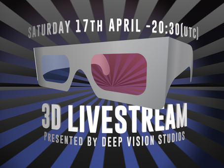 Stereo 3D Livestream Free Event