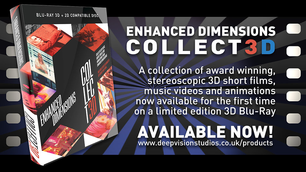 COLLECT3D AVAILABLE NOW PROMO PANEL-BLAC