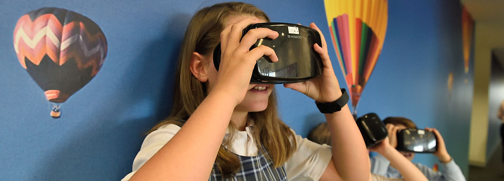 Virtually visit Scotland educational VR