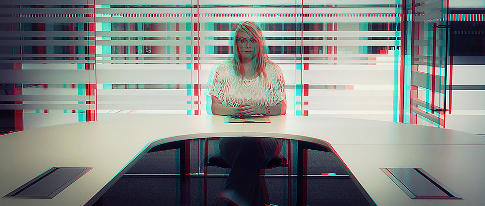 Anaglyph 3d picture from Situation Vacant Short Film