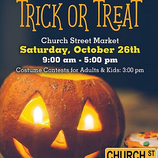 All day, Saturday Oct 26th. Trick or Tre