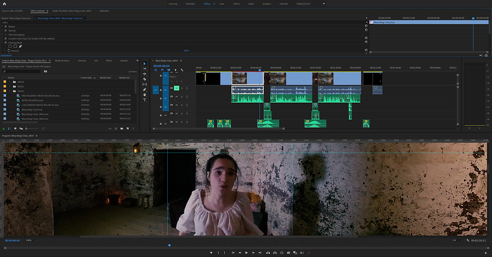 Virtual reality editing in Adobe After Effects