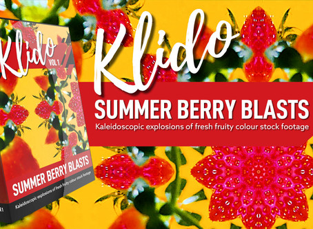 FREE 4K Kaleidoscopic Stock Footage & VJ Loops - Summer Berry Blasts