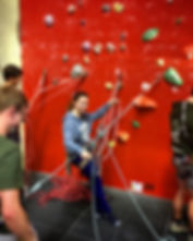 Climb Clinic social coaching